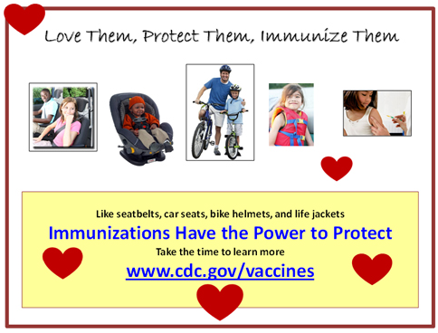 Immunizations have the power to protect