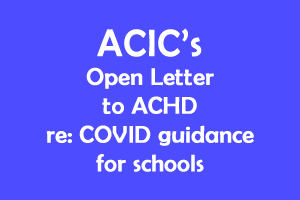 Open letter to ACHD